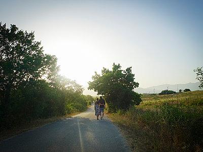 Paar auf Korsika - p1494m2127070 von Inkje Drescher