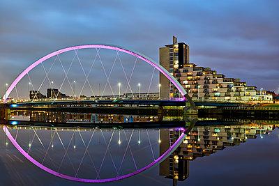 River Clyde, Glasgow - p587m1091792 von Spitta + Hellwig