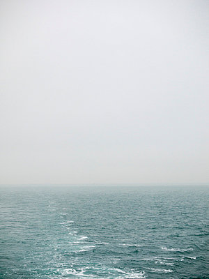 Misty seascape - p388m702056 by Andre