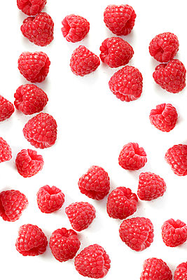 Raspberries - p450m1119359 by Hanka Steidle