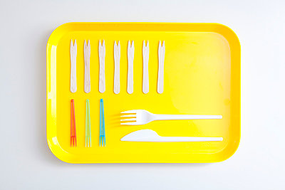 Yellow tray - p4541052 by Lubitz + Dorner