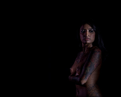 Nude Indian Woman - p1291m1116130 by Marcus Bastel