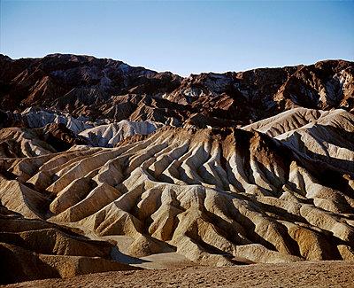 Zabriskie Point, Death Valley, California - p1028m2044064 by Jean Marmeisse