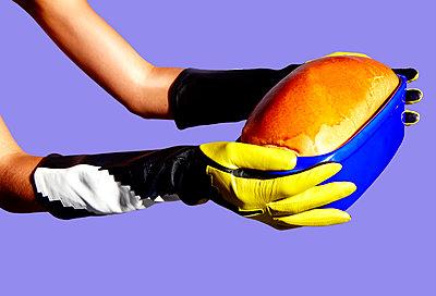 Fresh bread - p1673m2263485 by Jesse Untracht-Oakner