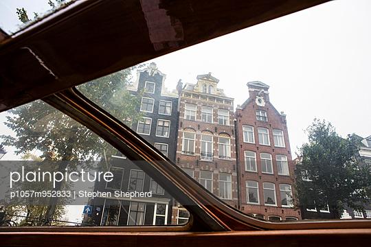 Boat trip in Amsterdam - p1057m952833 by Stephen Shepherd