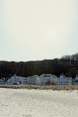 at the beach - p627m671311 by Julius Steffens