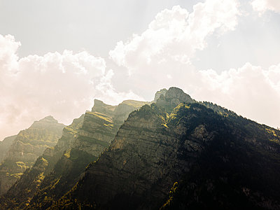 Mountain range, Kloen Valley - p1177m2076545 by Philip Frowein