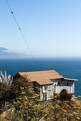 Haus am Big Sur - p1094m971519 von Patrick Strattner