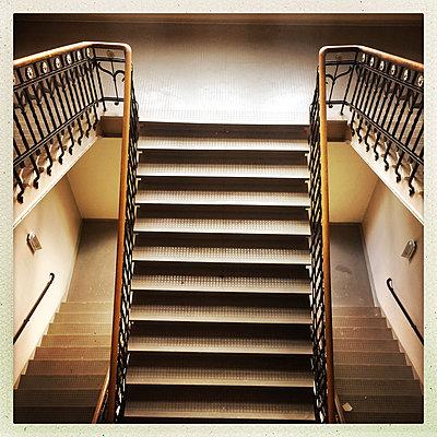 Treppe - p427m1537987 von R. Mohr