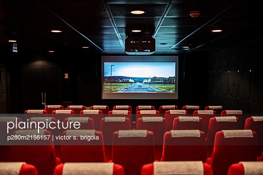 Cinema - p280m2156157 by victor s. brigola