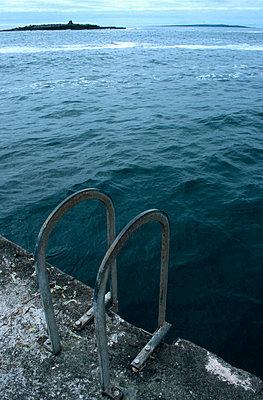 Einstieg ins Meer - p3300035 von Harald Braun