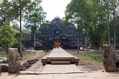 Tempel, Kambodscha - p842m1030612 von Renée Del Missier