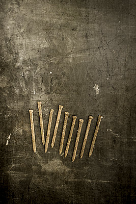 Nine rusty nails - p1228m1123017 by Benjamin Harte