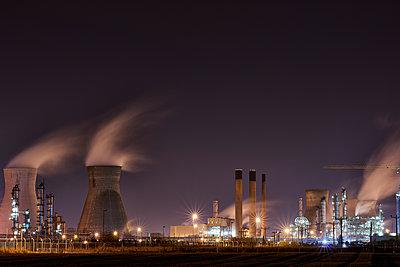 Raffinerie, Grangemouth - p587m1087224 von Spitta + Hellwig