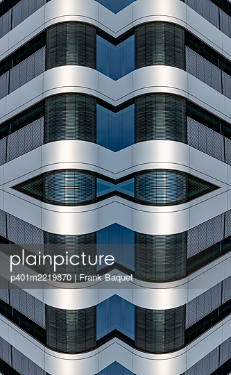 Abstract Architecture Kaleidoscope - p401m2219870 by Frank Baquet