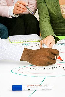Brainstorming in an office Sweden. - p31218295f by Plattform