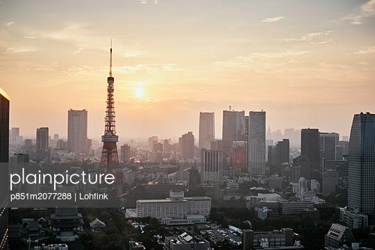 Tokyo Tower - p851m2077288 by Lohfink
