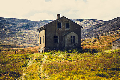 Abandoned house,West fjords, Iceland - p1084m986856 by Operation XZ