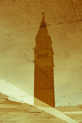 Italy, Veneto, Venice, Piazza San Marco, Campanile - p300m975449f by Karl Thomas