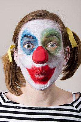 Clownin - p3580448 von Frank Muckenheim