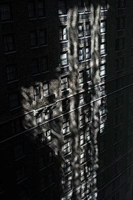 Shadowed building - p301m1026196f by Michael Mann