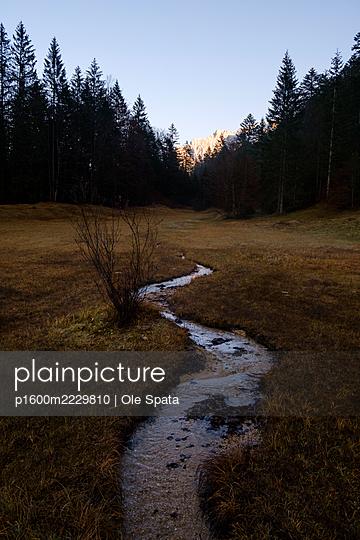 Germany, Bavaria, Stream - p1600m2229810 by Ole Spata