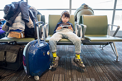 Waiting for Airplane - p535m1556617 by Michelle Gibson