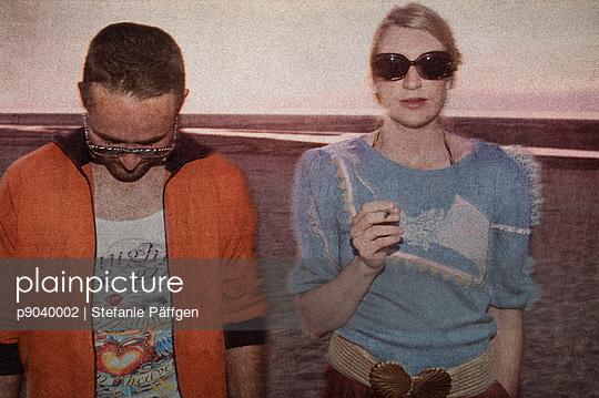 Paar am Strand - p9040002 von Stefanie Päffgen