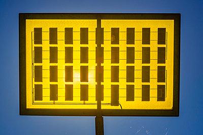 Germany, Ulm, solar tree in the Ulmer residential area solar city - p300m975506f by Walter G. Allgöwer