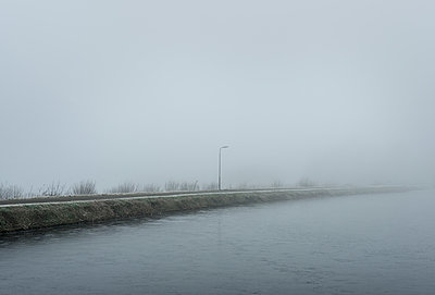 Fog in Friesland - p1132m973432 by Mischa Keijser
