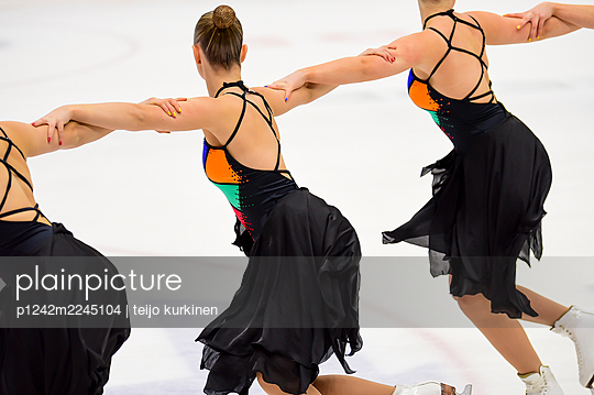 Finland, Figure Skating - p1242m2245104 by teijo kurkinen