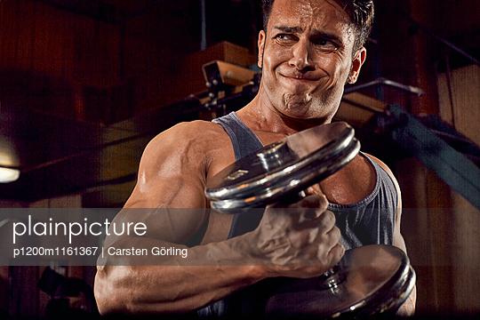 Bodybuilding - p1200m1161367 von Carsten Goerling