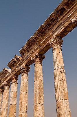 Ruinen der antiken Stadt Apameia im Norden Syriens - p1493m2063548 von Alexander Mertsch