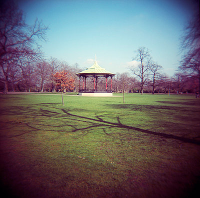 Bandstand in Greenwich Park - p1072m829456 by Neville Mountford-Hoare