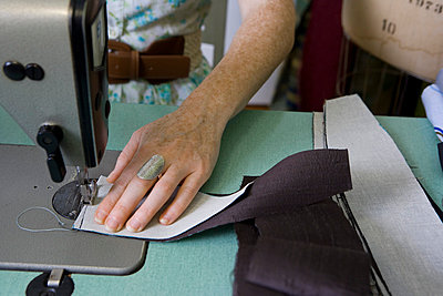 Sewing Machine - p5350102 by Michelle Gibson