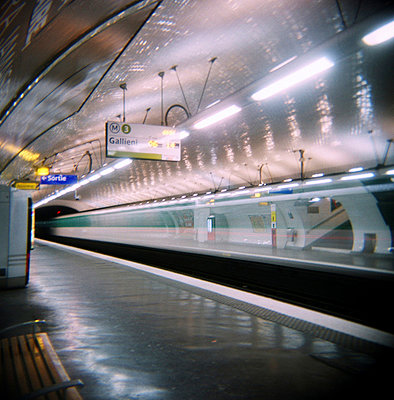 In der Metro - p9110227 von Arnaud Tudoret