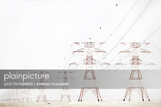 High-tension lines - p1217m1090600 by Andreas Koslowski