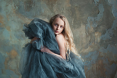 Girl in studio - p1476m2027005 by Yulia Artemyeva