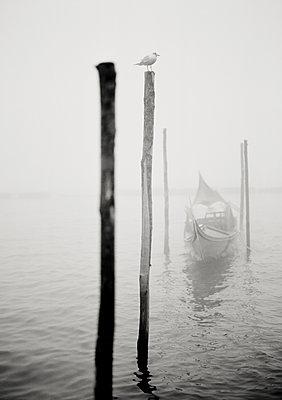 Kanal in Venedig - p1493m1584583 von Alexander Mertsch