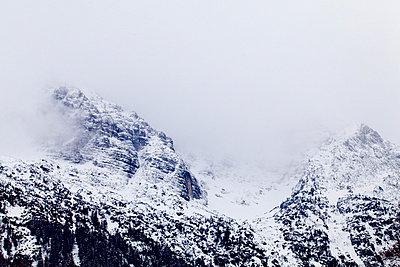 Mountain crest - p9070040 by Anna Fritsch