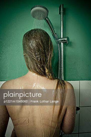 Shower - p1221m1045060 by Frank Lothar Lange