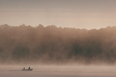 Fog at Chandos Lake - p1065m982627 by KNSY Bande