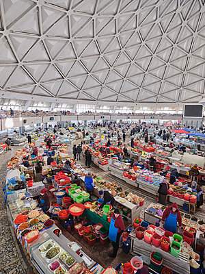 Chorsu-Basar, Market hall in Tashkent - p390m2178590 by Frank Herfort