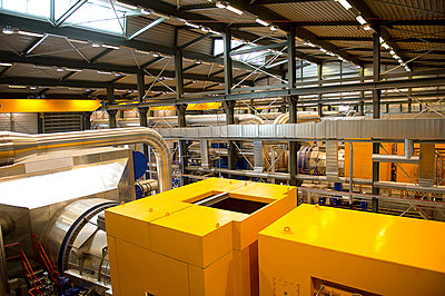 Machinery in power plant - p555m1415709 by Pete Saloutos