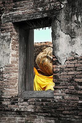 Ayutthaya; Wat Phra; Thailand - p1038m769497 von BlueHouseProject