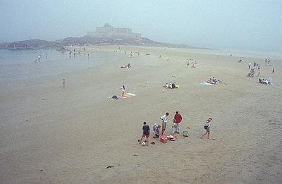 Menschen am Strand - p2600026 von Frank Dan Hofacker