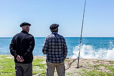 Fishing at Cap Breton, France - p778m2037560 by Denis Dalmasso
