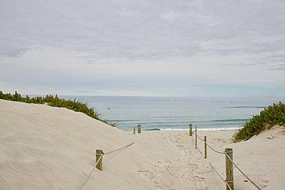 South Africa, Beach path - p1640m2245832 by Holly & John