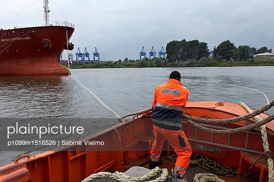 Hafen Hamburg - p1099m1516526 von Sabine Vielmo