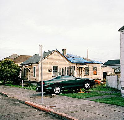 Wohngebiet, USA - p1008m939789 von Valerie Schmidt